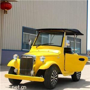 傲森黄色4座电动老爷车