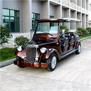 傲森品牌棕色8座电动观光车