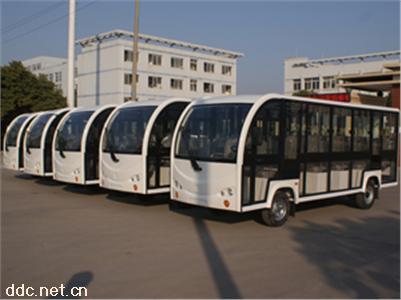景区运营大座位18座电动封闭观光车