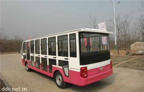 景区运营大座位23座电动封闭观光车