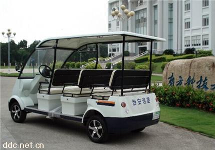 绿能达8座电动巡逻车