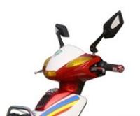 真爱16寸48V480W街霸电动摩托车