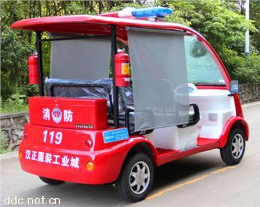 沃森5座警用电动消防巡逻车