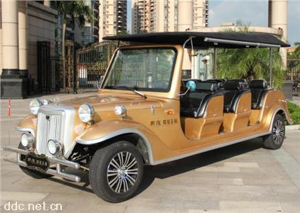 沃森8座豪华欧式电动老爷看房车,款式新颖大气