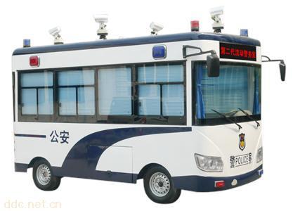 GD6J/M电动汽车移动警务室、流动警务室