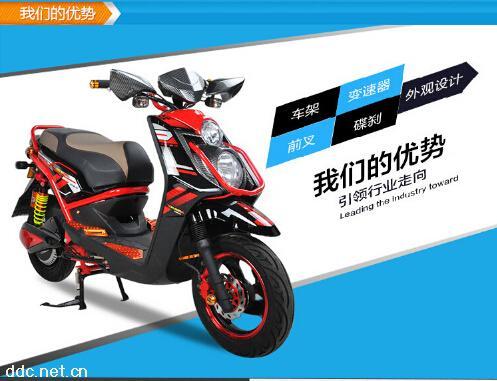 新日电动摩托车沙漠之鹰