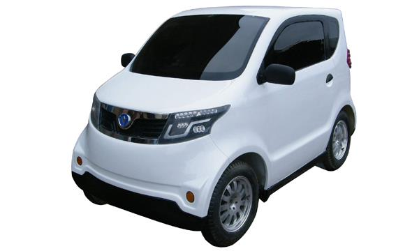 航天蓝速HT9型纯电动汽车