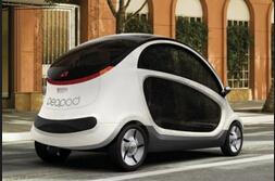 绿色时代 克莱斯勒Peapod全电动汽车