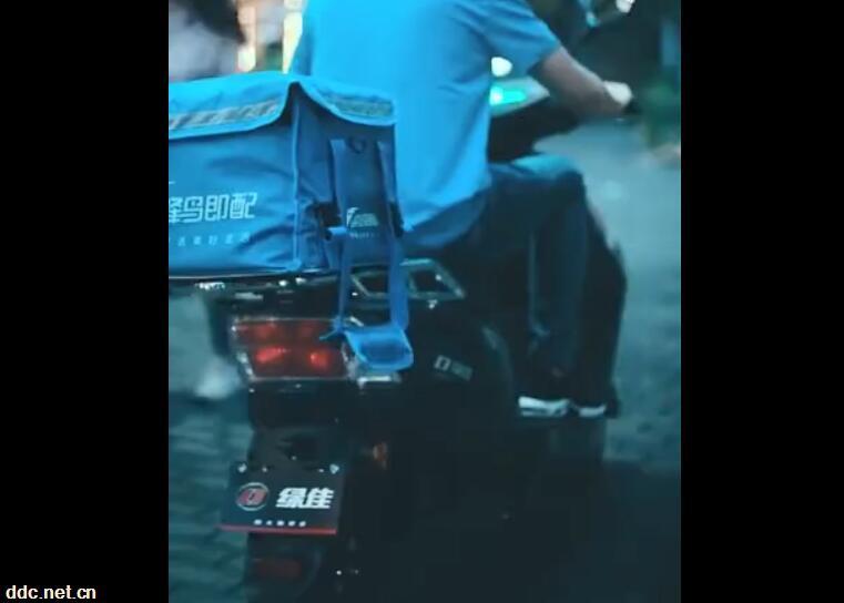 绿佳电动车 · 途-外卖篇