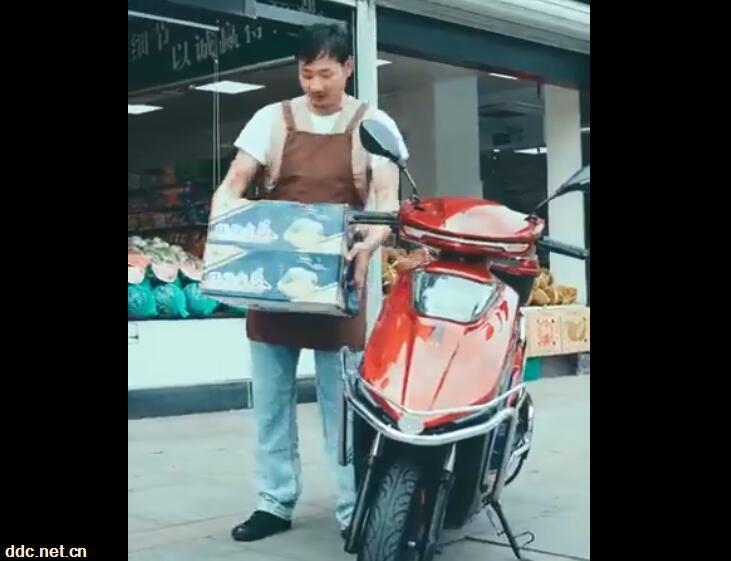 绿佳电动车 · 途-小商贩篇