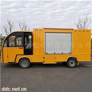 四轮电瓶送餐车