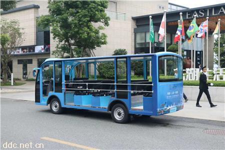 电动观光车23座景区运营大座位